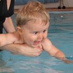 Koupání a plavání s miminky